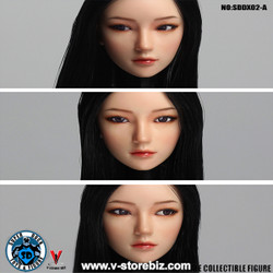 SuperDuck SDDX02A Female Headsculpt (Black)