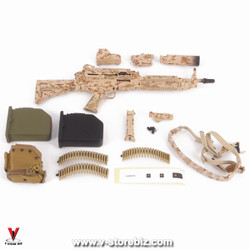 E&S 26021 SMU Tier 1 Security Team Mk.46 Machine Gun & Accessories