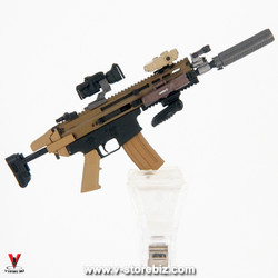 E&S 26025 PMC Urban Sniper Custom SCAR Assault Rifle & Accessories