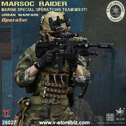 E&S 26027 5th Anniversary MARSOC Raider MSOT Urban Warfare