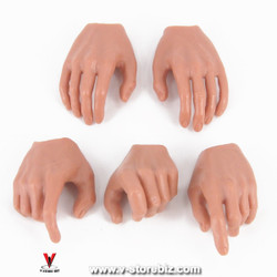 Male Hands Type 1 (Set of 5)