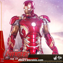 Hot Toys MMS278D09 Avengers: Age of Ultron Iron Man Mark XLIII (Reissue)