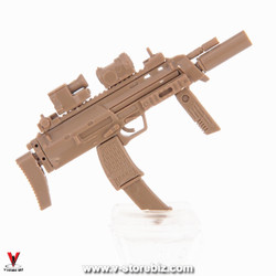 4D Model MP7 with Gemtech Suppressor (Tan)