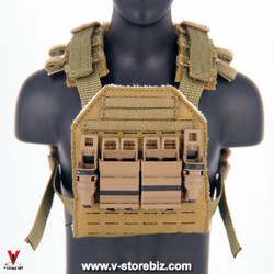 E&S 26010 Agency GRS Sentry Plate Carrier & GEN 3 Fast Mags