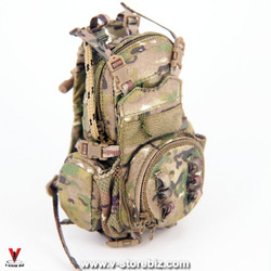 E&S 26026 Ranger RRC (Camo) Beavertail Modular Assault Pack w/ PRC Yote