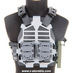 Green Wolf Gear DEVTAC Ronin S&S Flame Plate Carrier & Pouches