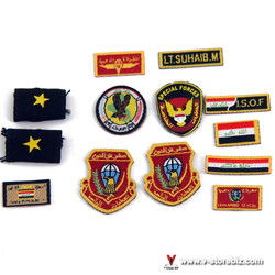 Soldier Story SS105 ISOF Patches