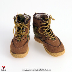 Flagset MC War Angela Female Combat Boots