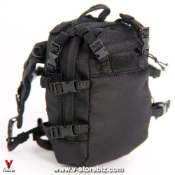 Flagset MC War Angela Black Backpack