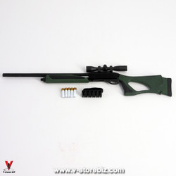 Flagset MC War Angela Remington 870 Shotgun