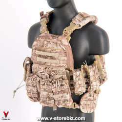 MiniTimes M012 SEAL Team Navy CAGE Plate Carrier & Pouches
