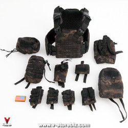 MiniTimes M013 SEAL Team HALO 1st-SPEAR STT Vest & Pouches