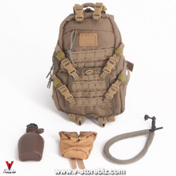Flagset FS73014 US 75th Ranger Afghanistan Backpack & Water Bottle