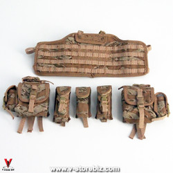 Flagset FS73014 US 75th Ranger Afghanistan Chest Rig & Pouches