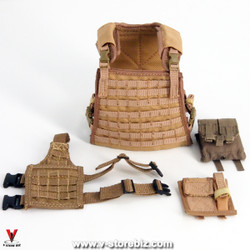 Flagset FS73014 US 75th Ranger Afghanistan Body Armor & Dropdown