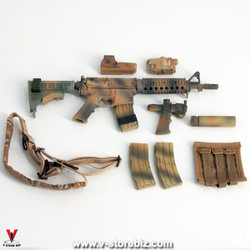 Flagset FS73014 US 75th Ranger Afghanistan M4 Carbine & Accessories