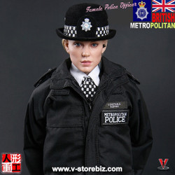 Modeling Toys MMS9005 British MPS Female Police Officer