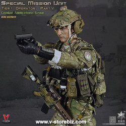 Radio /& Headset for ES 26020R 1//6 Special Mission Unit CAG Breacher 1//6 12/'/'