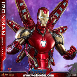 Hot Toys MMS528D30 Avengers: Endgame Iron Man Mark LXXXV