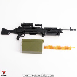 4D Model M240B Machine Gun