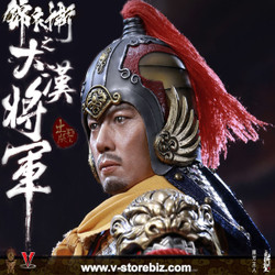 Ding Sheng Toys DS003B Imperial Guard of the Ming Dynasty Chujing (Silver Armor Version)