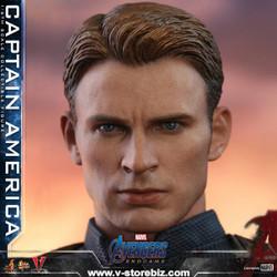 Hot Toys MMS536 Avengers: Endgame Captain America