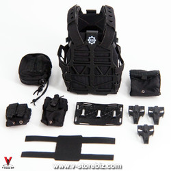 MiniTimes M014 CIA Armed Agent S&S Precision Plate Carrier & Pouches