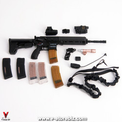 MiniTimes M014 CIA Armed Agent HK416 Rifle