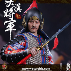 Ding Sheng Toys DS004B Imperial guards of the Ming Dynasty (SILVER Armor)
