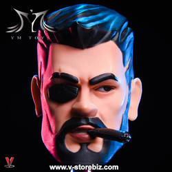YMToys YM024 Male Headsculpt