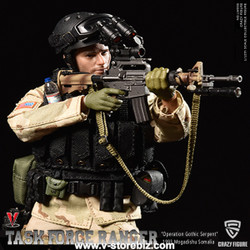 """Crazy Figure LW005 US Delta Force Master Sergeant """"Operation Gothic Serpent"""""""
