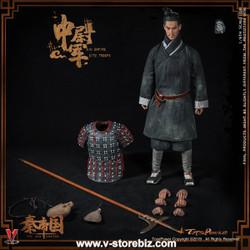 Toys Power CT012-B Qin Empire Terracotta Warriors (Black Color)