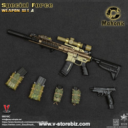 E&S 06018 Special Force Weapon Set A - C Mahonic