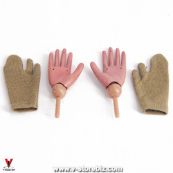 Soldier Story SS111 U.S. Army 28th Infantry Bendy Hands & Gloves