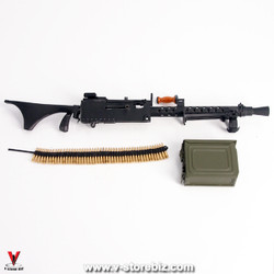Soldier Story SS111 U.S. Army M1919A6 Browning .30 cal Machine Gun (Diecast)