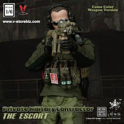 E&S 26034 Private Military Contractor The Escort (Camo Version)