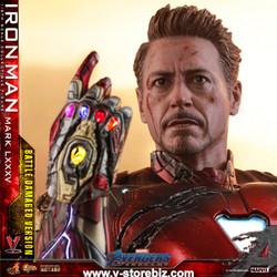 Hot Toys MMS543D33 Avengers : Endgame Iron Man Mark LXXXV (Battle Damage Version)