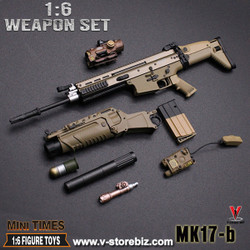 MiniTimes Mk.17B EGLM Assault Rifle (Tan)