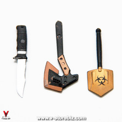 4D Model Bladed & Edged Weapons