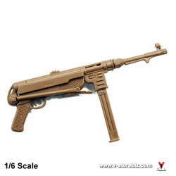 4D Model German WWII MP40 Submachine Gun (Tan)