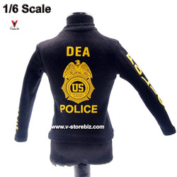 DAM 78063 DEA SRT Long Sleeve Law Enforcement T-Shirt
