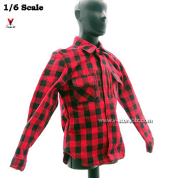 DAM 78063 DEA SRT Plaid Flannel Shirt