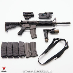 Soldier Story SS107 ISOF SAW Gunner LAR-15 Rifle & Accessories
