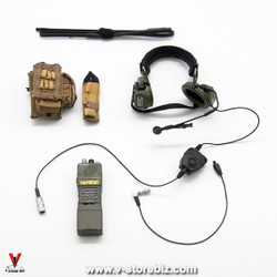 Soldier Story SS107 ISOF SAW Gunner Radio, Headset & Pouch