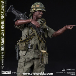 DAMToys PES010 Pocket Elite Series US Army 25th Infantry Division M60 Machine Gunner