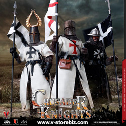 Coomodel SE058 Series of Empires Crusader Knights (Set of 3)