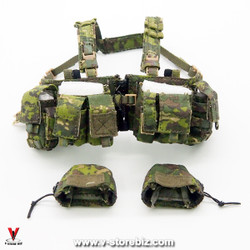 Flagset FS73020 DEVGRU Jungle Dagger Tactical Chest Rig & Mag Covers