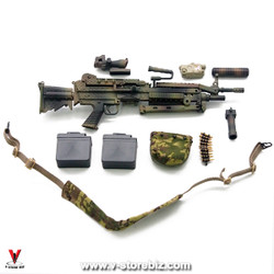Flagset FS73020 DEVGRU Jungle Dagger M249 Machine Gun
