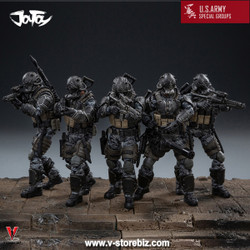 JoyToy JTUS005  U.S. Army Special Operations Unit (Set of 5)
