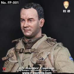 Facepoolfigure FP001 US Ranger Captain - France 1944